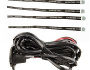 Fridge Tie Down Straps (4 pack) + 12v Fridge Wiring Kit