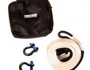 Hercules Snatch Strap Kit | 8t Snatch Strap | 2 x 4.7t Shackles | Inc. Heavy-Duty Canvas Bag