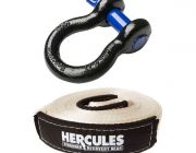 Hercules Bow Shackle 4.7T + Snatch Strap 11000kg