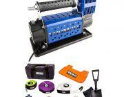 Hercules Complete Recovery Kit + Thumper 12v Air Compressor 160L/M 150PSI