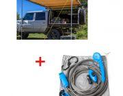 Adventure Kings Awning 2x3m + Adventure Kings Portable Shower Kit