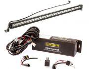 "Kings 30"" LETHAL MKIII Slim Line LED Light Bar + Bar Wiring Harness"