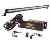 "Kings 40"" Slim Line LED Light Bar + Bar Wiring Harness"
