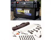 Adventure Kings Maxi Battery Box + Illuminator 4 Bar Camp Light Kit