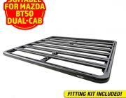Adventure Kings Aluminium Platform Roof Rack Suitable for Mazda BT50 Dual-Cab 2011+
