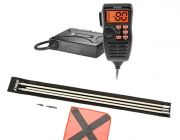 Oricom UHF380PK In-Car 5W CB Radio + Adventure Kings 3m Sand Safety Flag