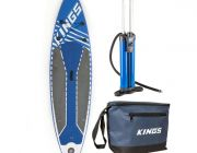 Adventure Kings Inflatable Stand-Up Paddle Board + Triple-Action Inflatable Paddleboard Pump + Cooler Bag