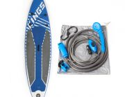 Adventure Kings Inflatable Stand-Up Paddle Board + Adventure Kings Portable Shower Kit