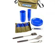 Adventure Kings 37 Piece Picnic Set + BBQ Tool Set