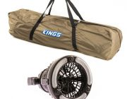 Adventure Kings Polyester Swag Bag + 2in1 LED Light & Fan