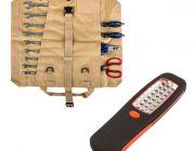 Adventure Kings Premium Tool Roll + Illuminator 24 LED Work Light
