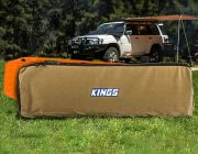 Kings Recovery Tracks 400GSM Canvas Storage Bag | Suitable for MaxTrax | Heavy-Duty Zips
