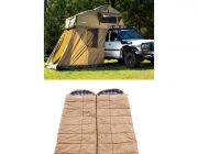 Adventure Kings Roof Top Tent + 4-man Annex + 2x Adventure Kings Premium Sleeping bag