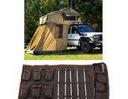 Adventure Kings Roof Top Tent + 4-man Annex + 5 Bar Camp Light Kit
