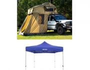 Adventure Kings Roof Top Tent + 4-man Annex + Gazebo 3m x 3m