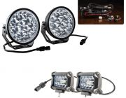 "Adventure Kings Domin8r Xtreme 7"" Essential LED Light Pack + Adventure Kings 4"" LED Light Bar"