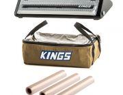 Adventure Kings Clear Top Canvas Bag + Vacuum Sealer + Vacuum Sealer Rolls 3-Pack