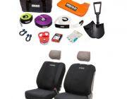 Hercules Complete Recovery Kit + Adventure Kings - Neoprene Front Seat Covers (Pair)