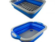 Adventure Kings Collapsible Sink + Adventure Kings Collapsible Dish Rack