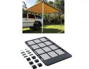 Steel Flat Rack suitable for 150 Series Prado + Adventure Kings Awning 2.5x2.5m