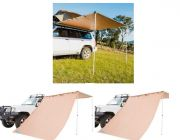 2.5 x 2.5m 2 in 1 Awning + Strip Light  + 2 x Adventure Kings Awning Side Wall