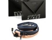 Kings Portable Steel Fire Pit + Adventure Kings LED Strip Light