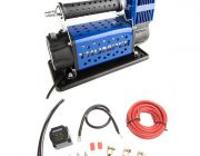 Thumper 12v Air Compressor 160L/M 150PSI + Adventure Kings Dual Battery System