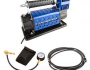 Thumper 12v Air Compressor 160L/M 150PSI + Kwiky Tyre Deflator + Thumper Air Hose Extension 4m