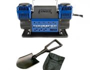 Thumper Max Dual Air Compressor + Recovery Folding Shovel