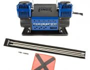 Thumper Max Dual Air Compressor + Adventure Kings 3m Sand Safety Flag