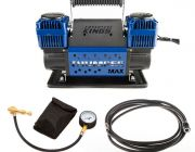 Thumper Max Dual Air Compressor + Kwiky Tyre Deflator + Air Hose Extension 4m