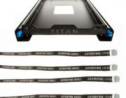 Titan 60L Fridge Slide + Adventure Kings Fridge Tie Down Straps (4 pack)