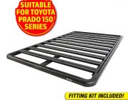 Adventure Kings Aluminium Platform Roof Rack Suitable for Toyota Prado 150 Series 2009+