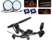 """Ultimate 7"""" OSRAM LED Domin8rX Driving Light Pack + Adventure Kings Cyclone Drone"""