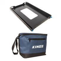 Adventure Kings Titan 100L Fridge Slide + Kings 8L Cooler Bag