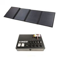 Adventure Kings 120W Solar Blanket with MPPT Regulator + 12V Control Box