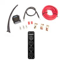 Adventure Kings Dual Battery System + 12V Accessory Panel