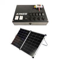 12v Control Box + Kings Premium 160w Solar Panel with MPPT Regulator