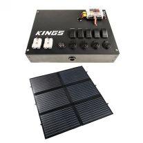 12V Control Box + Adventure Kings 200W Portable Solar Blanket