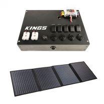 12V Control Box + Adventure Kings 120W Portable Solar Blanket
