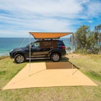 Kings 2.5x2.5m Side Awning | Suits All Vehicles | Waterproof | UPF50+ Rated