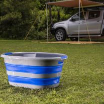 Kings Collapsible Laundry Basket | Heavy Duty | Packs Away Flat | Great for home or camping
