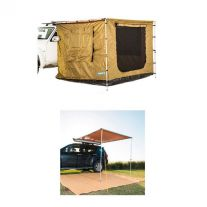 2 x 2.5m 2 in 1 Awning + Strip Light + Adventure Kings 2x2.5m Awning Tent