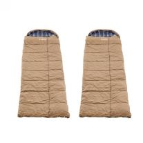 2x Adventure Kings Premium Sleeping bag -5°C to 5°C Degrees Celsius - Left and Right Zipper