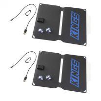 2x Adventure Kings 10W Portable Solar Kit