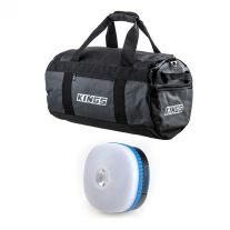 Kings 40L Large PVC Duffle Bag + Mini Lantern