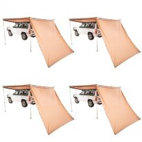 4x 270° King Wing Awning Wall