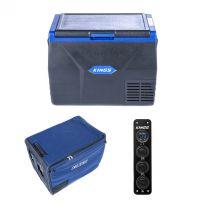 Kings 65L Fridge / Freezer + 65L Fridge Cover + 12V Accessory Panel