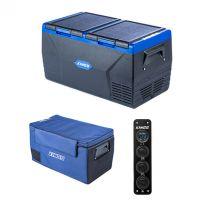 Kings 75L Dual Zone Fridge / Freezer + 75L Fridge Cover + 12V Accessory Panel