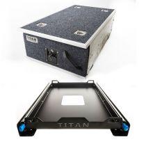 Titan Single Ute Drawer 1300mm + Titan 60L Fridge Slide